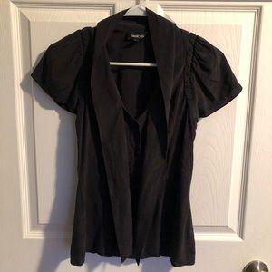 BeBe XXS pussybow blouse black